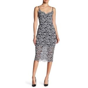 NWT: NSR Floral Lace Midi Dress SOLD OUT ONLINE